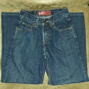 Boys Levi's 550 relaxed, 10 slim